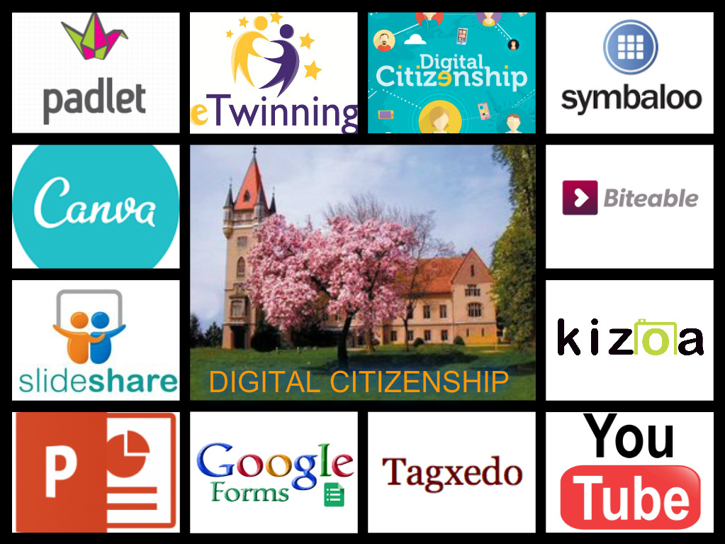 eTwinning project Digital Citizenship used tools