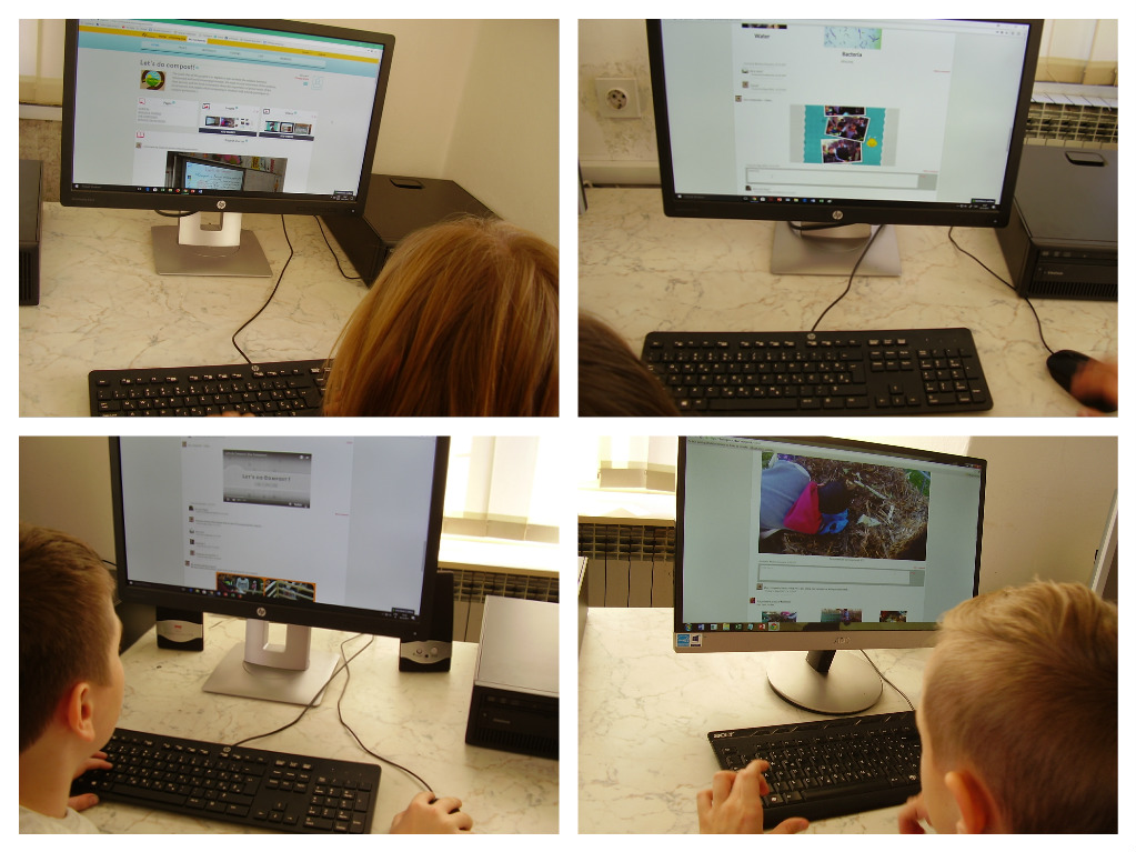 eTwinning project Let's do compost! TwinSpace Pribislavec