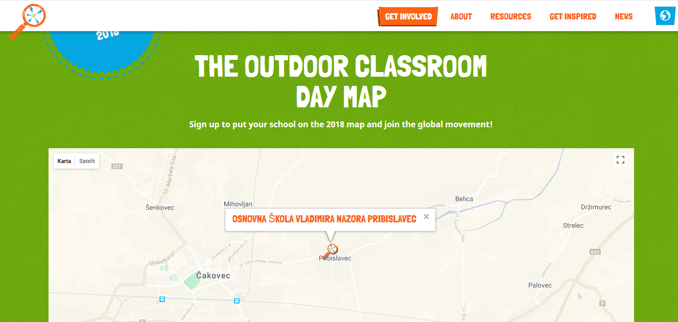 Outdoor Classroom Day Pribislavec Croatia