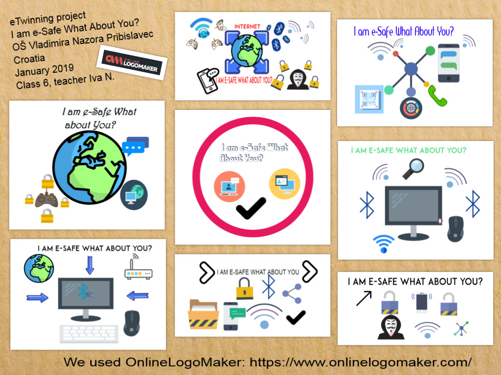 eTwinning projekt I am e-Safe What About You? - logo