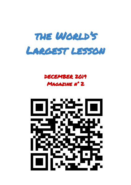 eTwinning World Largest Lesson
